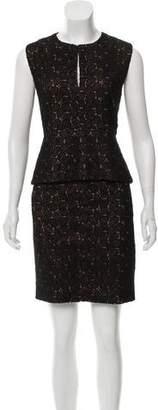 Diane von Furstenberg Lace Puplum Dress