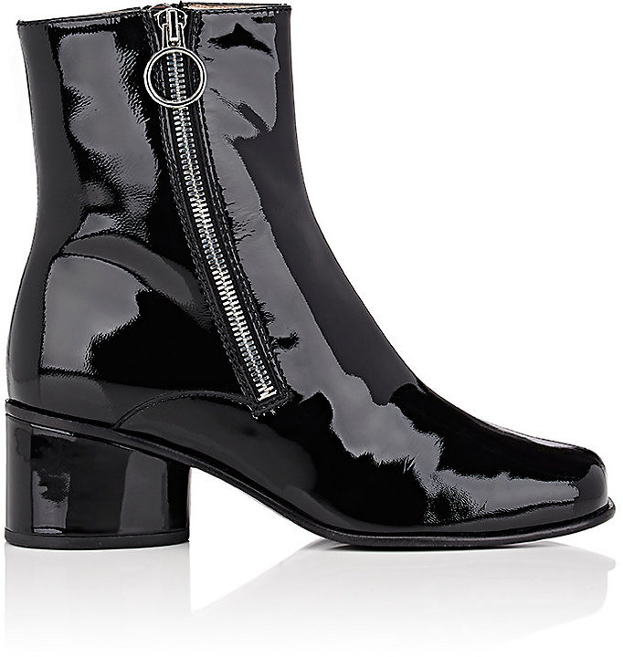 Marc Jacobs Marc Jacobs Women's Crawford Patent Leather Ankle Boots