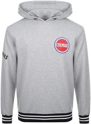 Colmar Logo Hoodie Grey