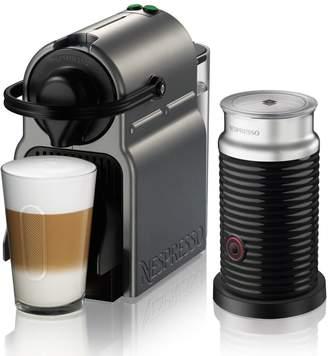 Nespresso Inissia by Breville Espresso Machine with Aeroccino3 Frother