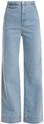 Anita high-rise wide-leg jeans