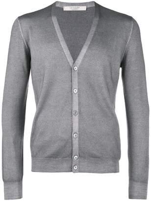 D'aniello La Fileria For V-neck fitted cardigan