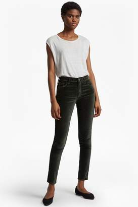 French Connection Velvet Luxe Five Pocket Skinny Jeans