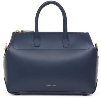 Mansur Gavriel Calf Mini Travel Crossbody Bag - Blu