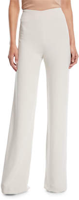Jenny Packham Side-Zip Wide-Leg Pants