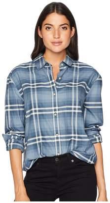 Pendleton Stevie Back Pleat Shirt Women's Clothing