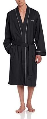 HUGO BOSS Men's Cotton Kimono Robe