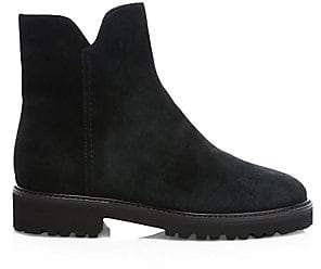 Aquatalia Women's Madelyn Suede Ankle Boots