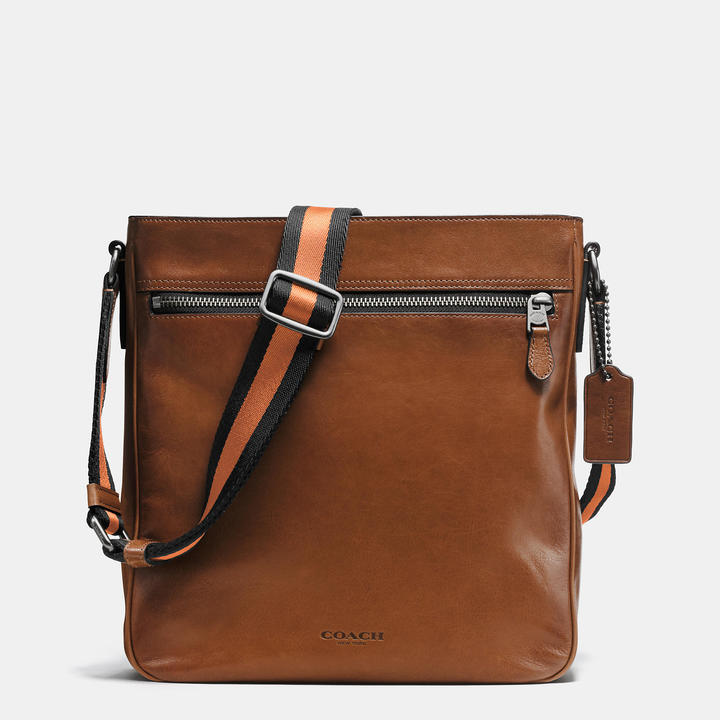 Coach   COACH Coach Metropolitan Crossbody In Sport Calf Leather