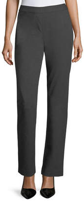 Lafayette 148 New York Punto Milano Straight-Leg Pants, Plus Size