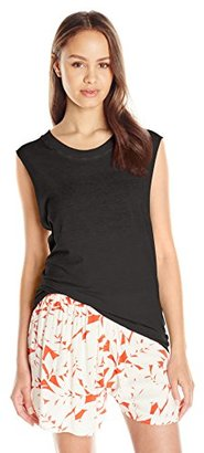 Sub_Urban RIOT Juniors Solid Basic Crew Neck Muscle Tank Top $6.49 thestylecure.com