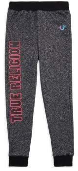 True Religion Girl's Cotton Sporty Sweatpants