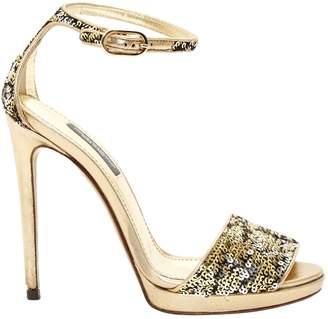 Dolce & Gabbana Glitter sandals