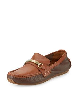 Cole Haan Somerset Bit II Leather Loafer, Chestnut