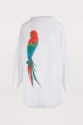 Stella Jean Long cotton blouse