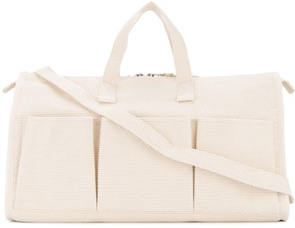Cabas multi-pocket tote bag