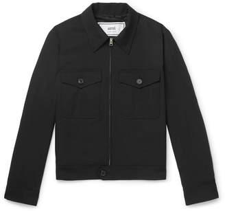 Ami Wool-Twill Blouson Jacket