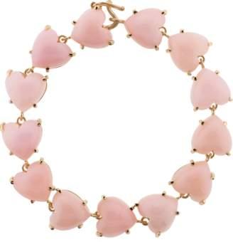 Irene Neuwirth JEWELRY Heart Shape Pink Opal Bracelet
