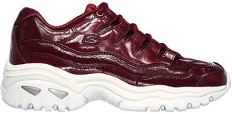 Skechers Women's Energy Thriller Knight Patent Leather Sneakers