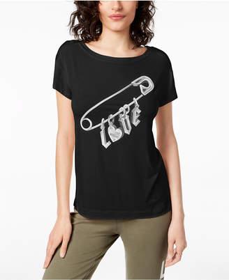 Love Moschino Love Pin Graphic T-Shirt