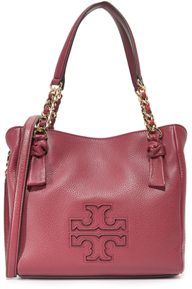 Tory Burch Harper Small Satchel $395 thestylecure.com
