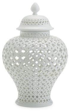Twos Company Two's Company Carthage Pierced Porcelain Lantern