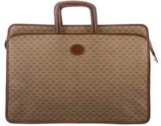 Gucci Vintage GG Plus Briefcase Bag