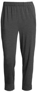Eileen Fisher Slouchy Stretch Jersey Pants