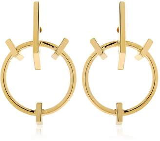Schield Geometrical Love Earrings