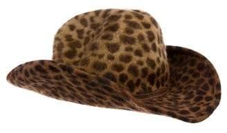 Eric Javits Ponyhair Wide-Brim Hat