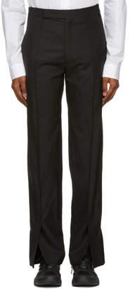 Namacheko Black Three Split Trousers
