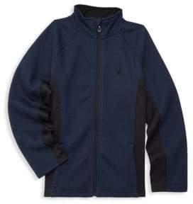 Spyder Boy's Raglan-Sleeve Jacket