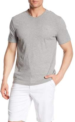Calvin Klein Jeans V-Neck Mixed Media Tee
