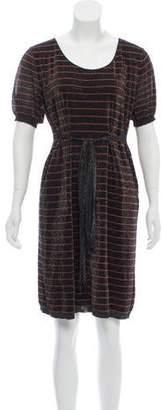 Sonia Rykiel Knee-Length Short Sleeve Dress