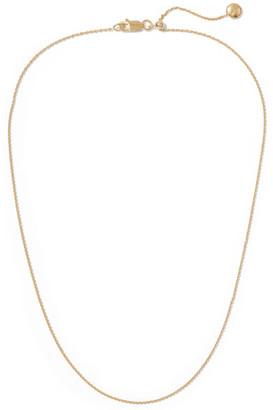 Monica Vinader Rolo 17'' Gold Vermeil Chain