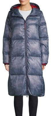 Tommy Hilfiger Long Hooded Fill Coat