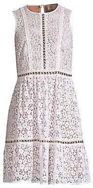 MICHAEL Michael Kors Women's Mod Floral Lace Dress