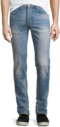 Hudson Sartor Slouchy Distressed Skinny Jeans