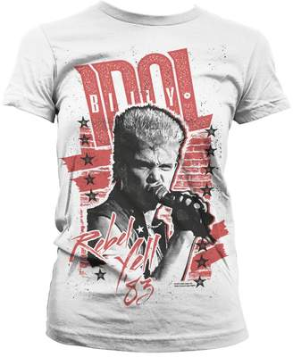 Rebel Yell Billy Idol '83 Official Women T-Shirt