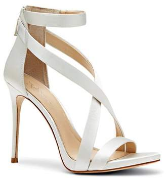 Vince Camuto Imagine Devin – Fabric Crisscross-Strap Sandal