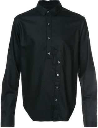Private Stock broken placket shirt
