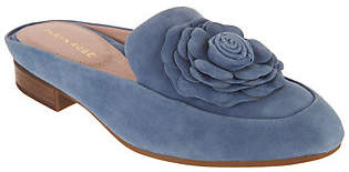 Taryn Rose Leather or Suede Loafer Mules -Blythe