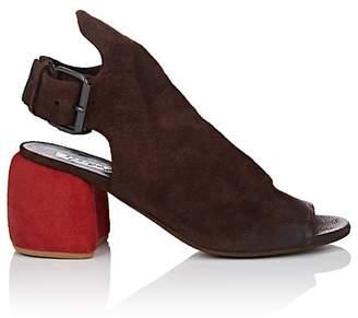 Marsèll Women's Suede Slingback Sandals