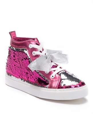 Jo-Jo JOJO SIWA Reverse Sequin High Top Sneaker (Little Girls & Big Girls)