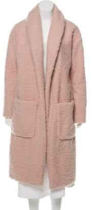 Amanda Uprichard Faux Fur Long Coat