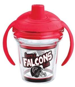 Tervis NFL Atlanta Falcons Born A Fan 6oz Sippy Cup with Lid