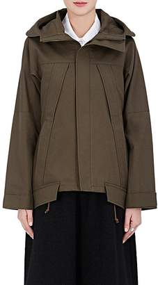 Regulation Yohji Yamamoto Women's Cotton Canvas Hooded Parka