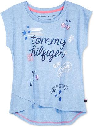 Tommy Hilfiger Graphic-Print T-Shirt, Big Girls (7-16) $19.50 thestylecure.com