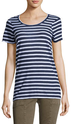 Monrow Stripe Vintage Oversized Shirt