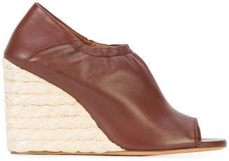 Derek Lam Cosimia Straw Wedge